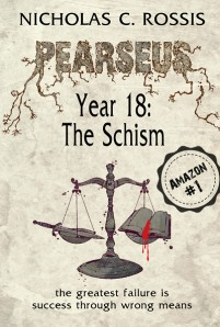 Pearseus, Year 18: The Schism (book 1 in the series) book cover