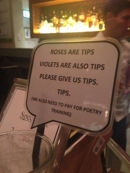 give tips