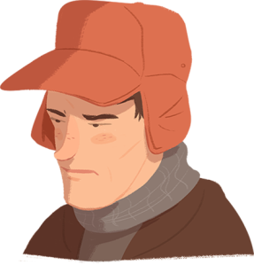 olden Caulfield from The Catcher in the Rye