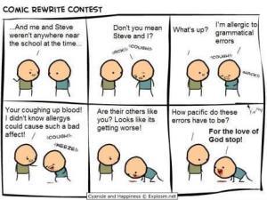 Grammar allergies