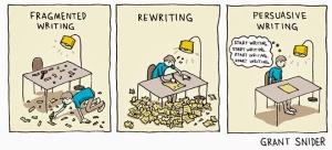 Hilarious writing