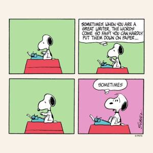 snoopy sometimes