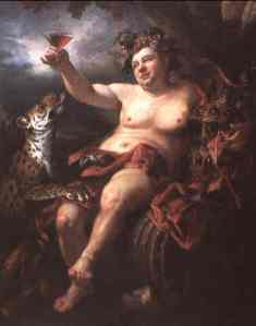 Dionysus (Bacchus). Obviously, the resemblance is uncanny.