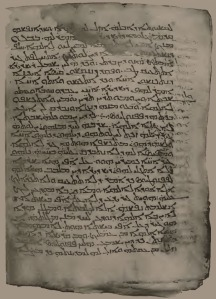 Syriac Sinaiticus - From the blog of Nicholas C. Rossis, author of science fiction, the Pearseus epic fantasy series and children's books