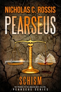 Pearseus cover | From the blog of Nicholas C. Rossis, author of science fiction, the Pearseus epic fantasy series and children's books