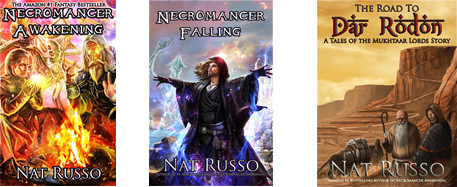 Nat Russo's Necromancer fantasy series | From the blog of Nicholas C. Rossis, author of science fiction, the Pearseus epic fantasy series and children's book